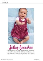 Strickanleitung - Baby Strampler - Simply Stricken - 03/2018