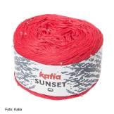 Katia, Sunset, Perle, häkeln, Dreieckstuch