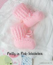 Häkelanleitung - Pretty in Pink-Schühchen - Mini Häkeln Vol. 2