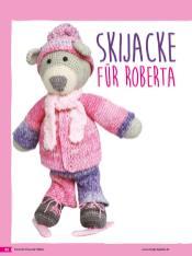Häkelanleitung - Skijacke für Roberta - Tierische Freunde häkeln 02/2018