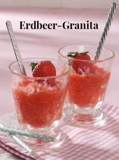 Rezept - Erdbeer-Granita - Simply Kreativ Erdbeeren- und Spargel-Rezepte für den Thermomix®