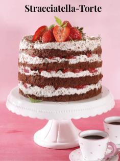 Rezept - Stracciatella-Torte - Simply Kreativ Erdbeeren- und Spargel-Rezepte für den Thermomix®