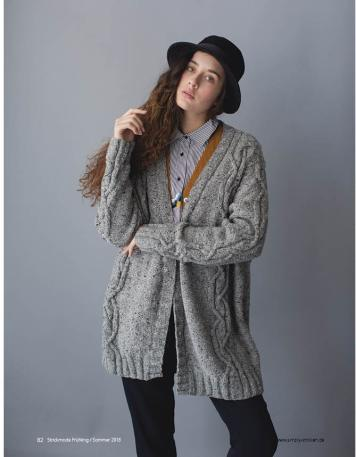 Strickanleitung - James-Cardigan - Strickmode - 0218