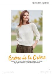 Strickanleitung - Crème de la Crème - Simply Stricken - 0418