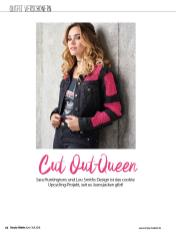 Häkelanleitung - Cut Out-Queen - Simply Häkeln 04/2018