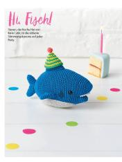 Häkelanleitung - Hi Fisch - Simply Häkeln 04/2018