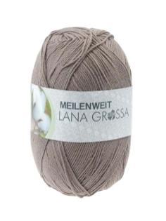 Lana Grossa Meilenweit Solo Cotone unito Farbe 3471