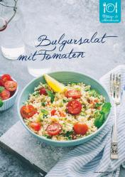 Rezept - Bulgursalat mit Tomaten - Gesund & Fix mit dem Thermomix - 05/2018