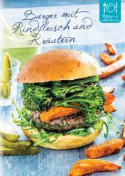 Rezept - Burger mit Rindfleisch und Kräutern - Gesund und fix mit dem Thermomix - 0418