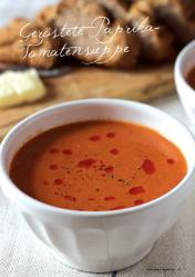Rezept - Geröstete Paprika-Tomatensuppe - Gesund & Fix mit dem Thermomix - 05/2018