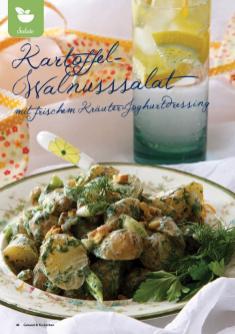 Rezept - Kartoffel-Walnusssalat mit frischem Kräuter-Joghurtdressing - Gesund & Fix mit dem Thermomix - 05/2018