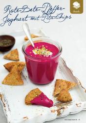 Rezept - Rote-Bete-Pfeffer-Joghurt mit Pita-Chips - Gesund & Fix mit dem Thermomix - 05/2018