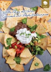 Rezept - Tortilla-Chips mit Salsa-Guacamole und Schoko-Bohnenpueree - Gesund & Fix mit dem Thermomix - 05/2018