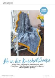 Strickanleitung - Ab in die Kuschel(d)ecke - Simply Stricken - 0418