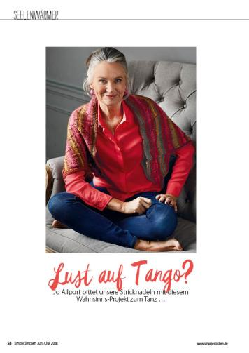 Strickanleitung - Lust auf Tango? - Simply Stricken - 0418