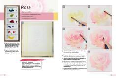 Malanleitung - Rose - Deine Malschule Teil 2