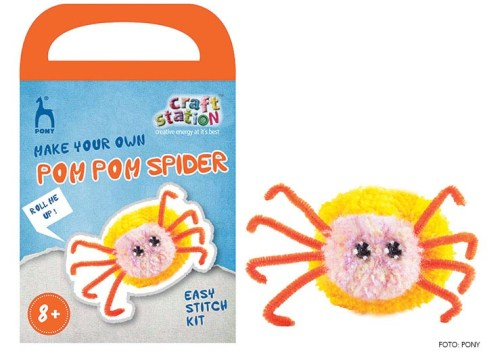Craft Station Kits PONY Pompom Spider