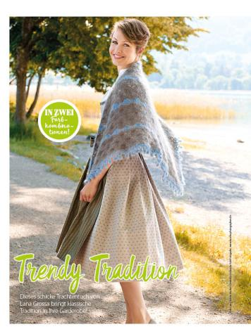 Häkelanleitung - Trendy Tradition - Simply Häkeln - 05/2018