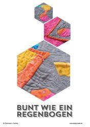 Nähanleitung - Bunt wie ein Regenbogen - Patchwork 04/2018