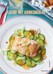 Rezept - Lachs mit Gurkensalat - Weekly Kochen Extra - 01/2018