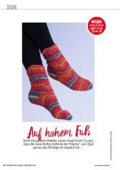 Strickanleitung - Auf hohem Fuß - Simply Stricken 05/2018