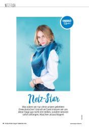 Strickanleitung - Netz-Star - Simply Stricken 05/2018