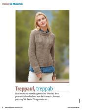 Strickanleitung - Treppauf, Treppab - Fantastische Herbst-Strickideen - 04/2018