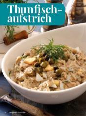 Rezept - Thunfischaufstrich - Simply Kreativ - Brot backen - Sonderheft - 01/2019
