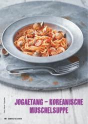 Rezept - Jogaetang – Koreanische Muschelsuppe - Simply Kochen Suppen & Eintöpfe 01/2018