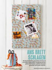 Nähanleitung - Ans Brett schlagen - Simply Kreativ Geschenkideen + Accessoires Näh-Sonderheft 01/2018