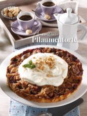 Rezept - Amarettini-Pflaumentorte - Simply Kreativ Äpfel-und Pflaumen-Rezepte für den Thermomix® 05/2018