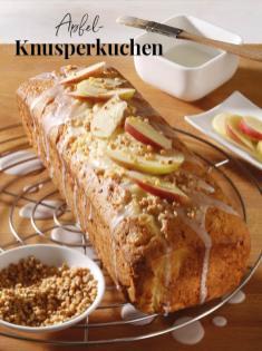 Rezept - Apfel-Knusperkuchen - Simply Kreativ Äpfel-und Pflaumen-Rezepte für den Thermomix® 05/2018