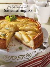 Rezept - Apfelkuchen mit Sauerrahmguss - Simply Kreativ Äpfel-und Pflaumen-Rezepte für den Thermomix® 05/2018