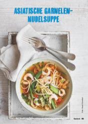 Rezept - Asiatische Garnelen-Nudelsuppe - Simply Kochen Suppen & Eintöpfe 01/2018