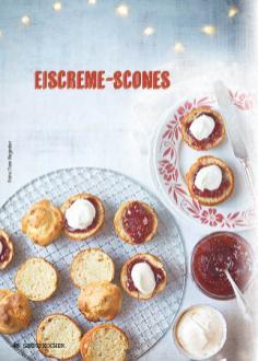 Rezept - Eiscreme-Scones - Simply Kochen Special Weichnachtsgebäck - 01/2018