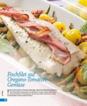 Rezept - Fischfilet auf Oregano-Tomaten-Gemüse - Simply Kochen mini – Rezepte für den Thermomix® 05/18
