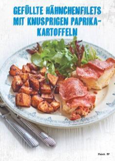 Rezept - Gefüllte Hähnchenfilets - Simply Kochen Mediterran 05/2018