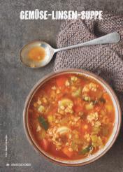 Rezept - Gemüse-Linsen-Suppe - Simply Kochen Suppen & Eintöpfe 01/2018