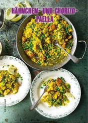 Rezept - Hähnchen und Chorizo-Paella - Simply Kochen Mediterran 05/2018