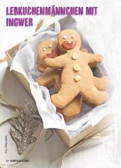 Rezept - Lebkuchenmännchen mit Ingwer - Simply Kochen Special Weichnachtsgebäck - 01/2018
