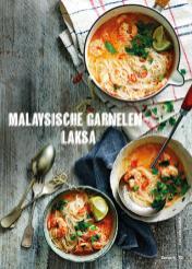 Rezept - Malaysische Garnelen-Laksa - Simply Kochen Suppen & Eintöpfe 01/2018