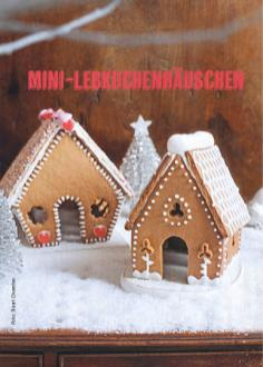 Rezept - Mini-Lebkuchenhäuschen - Simply Kochen Special Weichnachtsgebäck - 01/2018