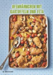 Rezept - Ofenhähnchen mit Kartoffeln und Feta - Simply Kochen Mediterran 05/2018