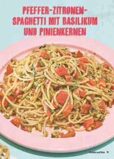 Rezept - Pfeffer-Zitronen-Spaghetti - Simply Kochen Mediterran 05/2018