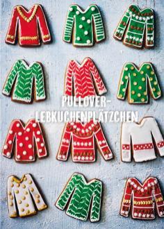 Rezept - Pullover-Lebkuchenplätzchen - Simply Kochen Special Weichnachtsgebäck - 01/2018