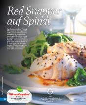 Rezept - Red Snapper auf Spinat - Simply Kochen mini – Rezepte für den Thermomix® 05/18
