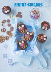 Rezept - Rentier-Cupcakes - Simply Kochen Special Weichnachtsgebäck - 01/2018