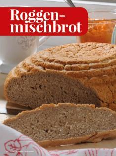 Rezept - Roggen-mischbrot - Simply Kreativ - Brot backen - Sonderheft - 01/2019