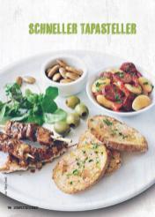 Rezept - Schneller Tapasteller - Simply Kochen Mediterran 05/2018
