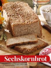 Rezept - Sechskornbrot - Simply Kreativ - Brot backen - Sonderheft - 01/2019